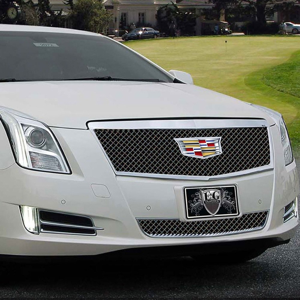 Cadillac Accessories Catalog: Cadillac XTS 2016 1-Pc Classic Black Heavy Mesh Grille