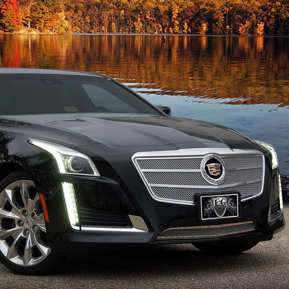 Cadillac CTS 2014 Chrome Fine Mesh Grille