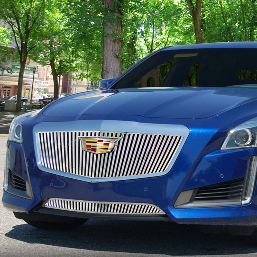 Custom Cadillac Cts: Cadillac CTS 2015 Chrome Vertical Billet