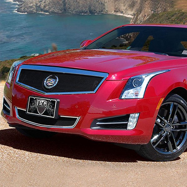 Cadillac ATS 2013 2-Pc Classic Black Fine