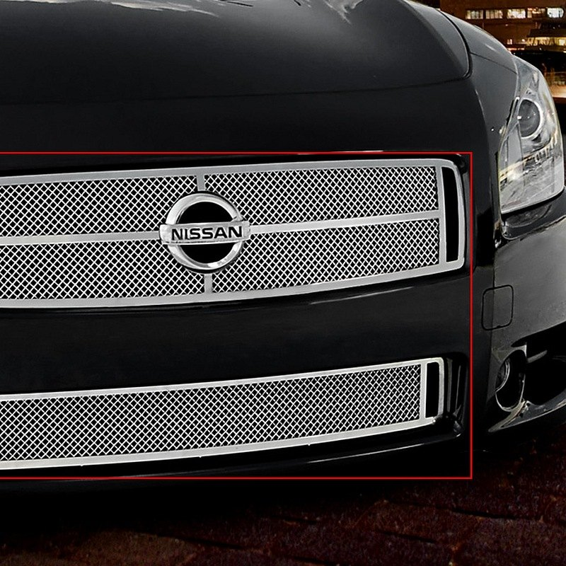 2009 Nissan Maxima Exterior: Nissan Maxima 2009-2015 Chrome Fine Mesh