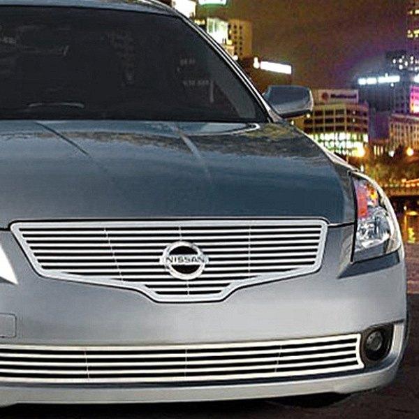 E G Classics Nissan Altima 2007 Q Style Polished Grille