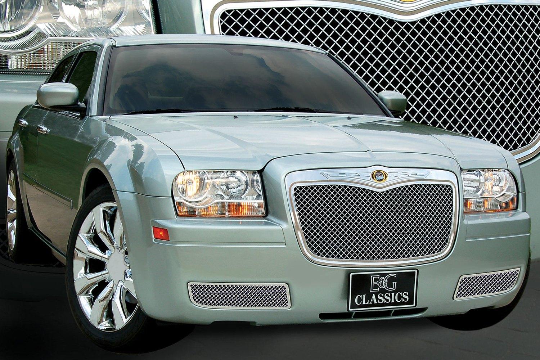 e g classics chrysler 300 2005 2010 ultimate series chrome heavy mesh grille. Black Bedroom Furniture Sets. Home Design Ideas