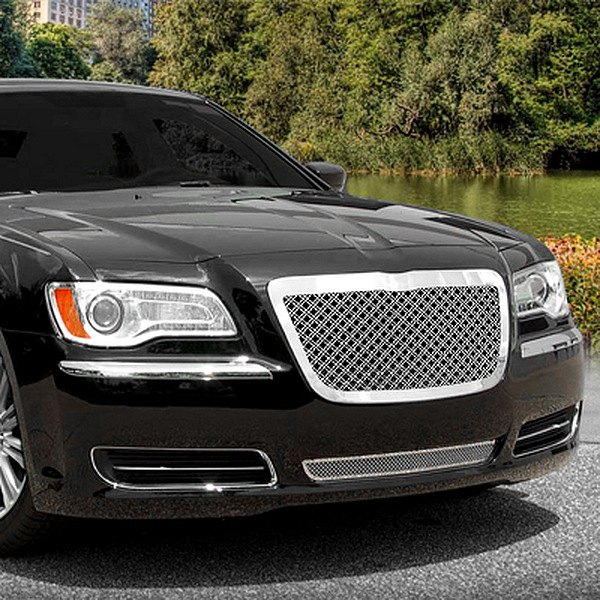 Chrysler 300 2012 Dual Weave Chrome Mesh