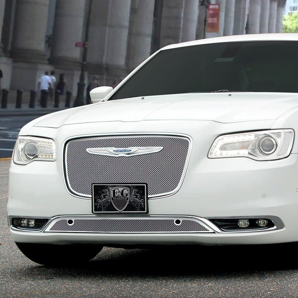 Chrysler 300 2015-2016 Chrome Fine Mesh Grille