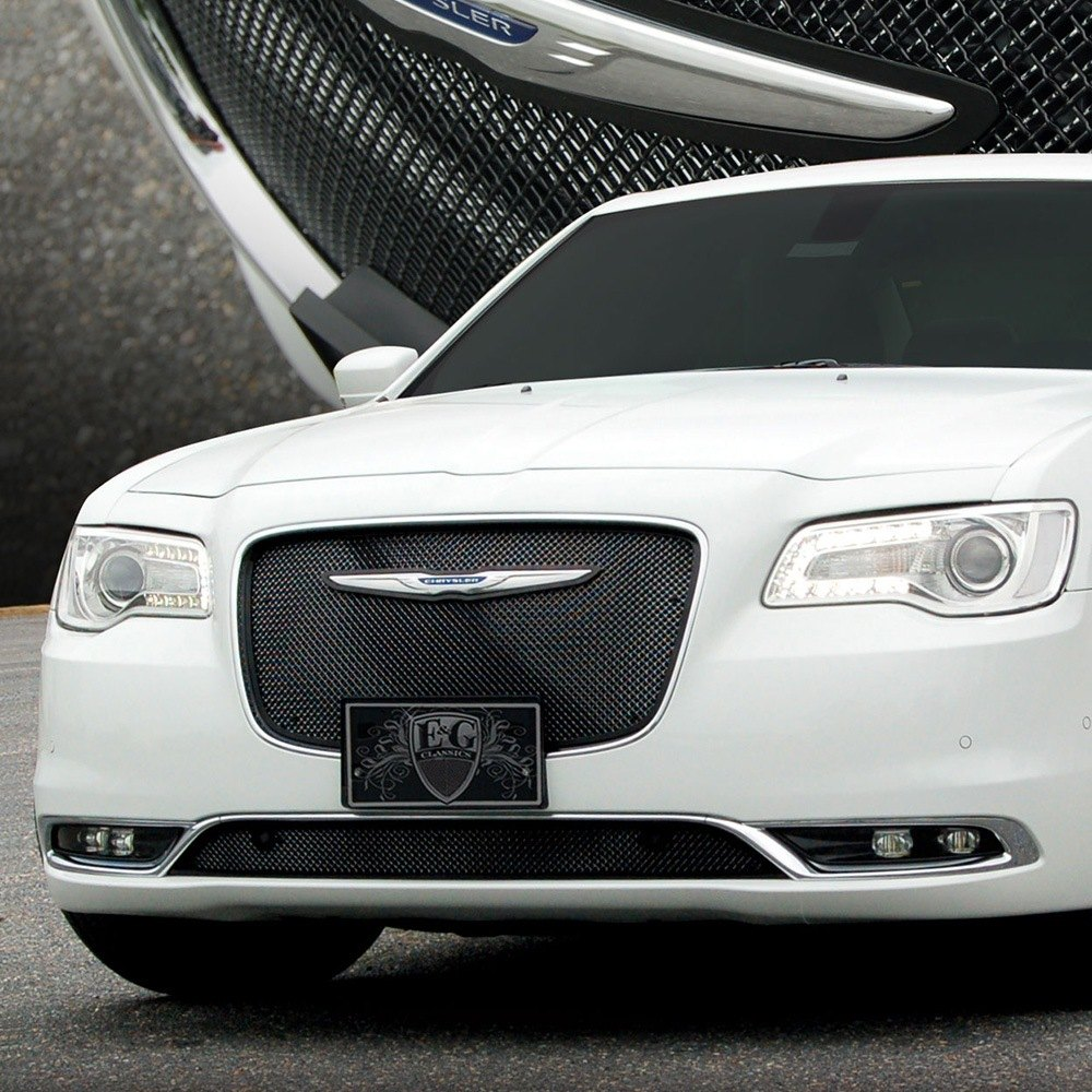 Purple Chrysler 300 Accessories Google Search: E&G Fine Mesh Grille For Chrysler 300