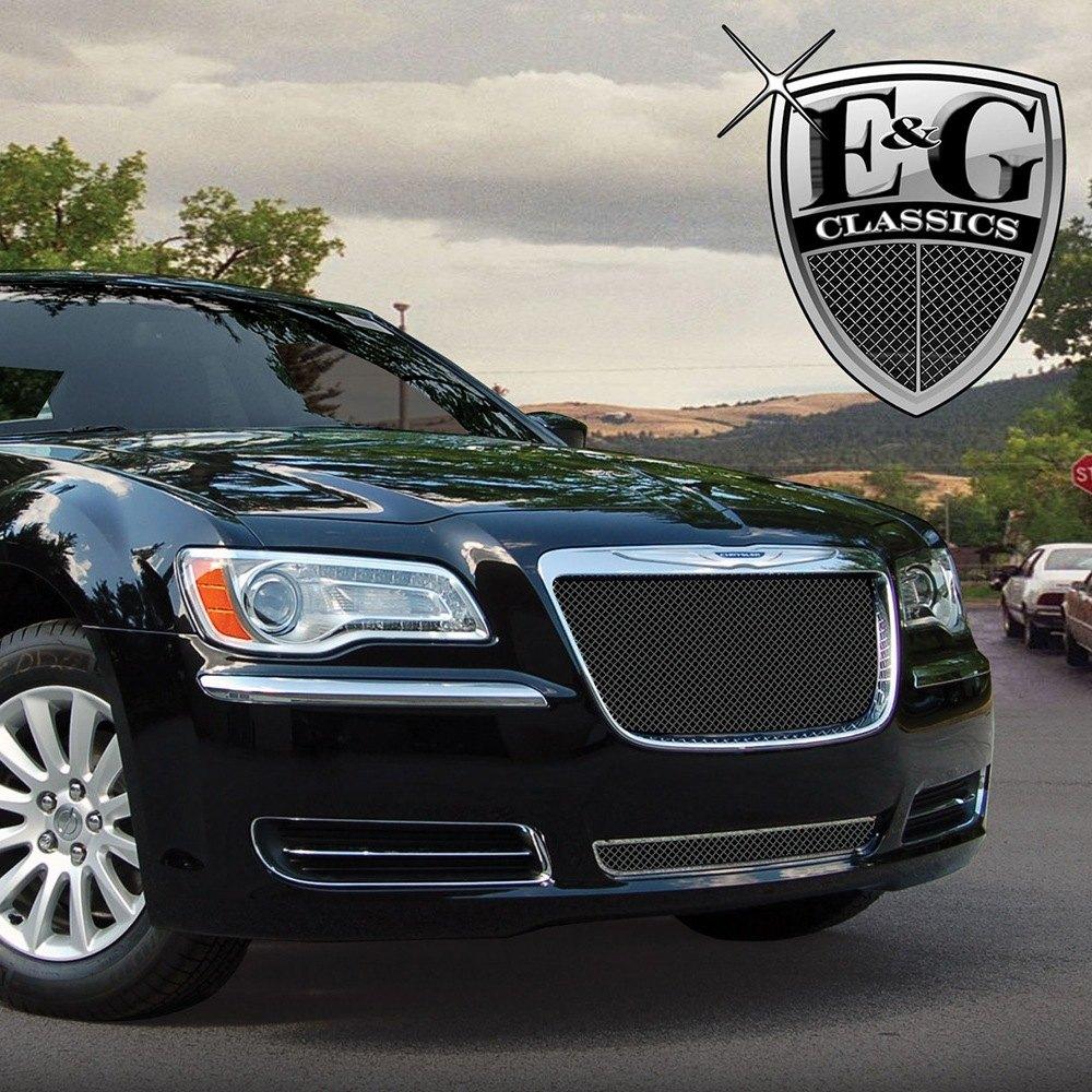 Chrysler 300 2013 Black Fine Mesh Grille