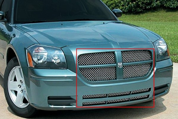 E g classics 1338 0104 05 dodge magnum 2005 2007 chrome - Dodge magnum interior accessories ...