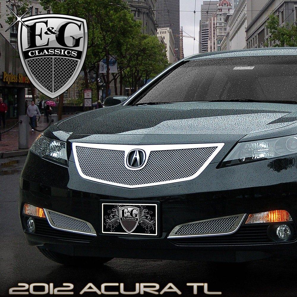 Acura TL 2012-2014 Chrome Fine Mesh Grille