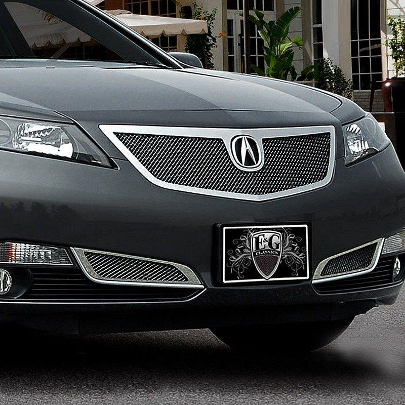 Acura TL 2012-2014 Black Fine Mesh Grille