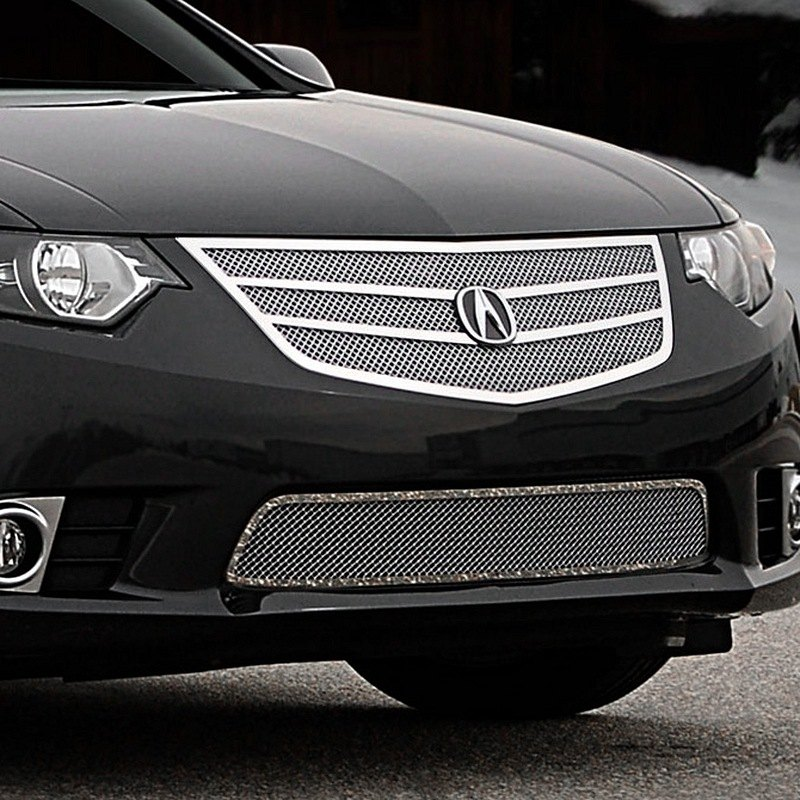 Acura TSX 2012 Twin Bar Chrome Fine Mesh