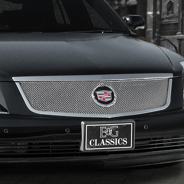 Cadillac Accessories Catalog: Cadillac DTS 2006-2011 Classic Chrome Fine Mesh Grille