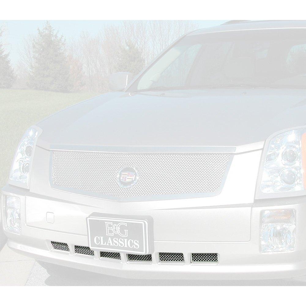 For Cadillac SRX 04-09 1-Pc Classic Series Chrome Fine
