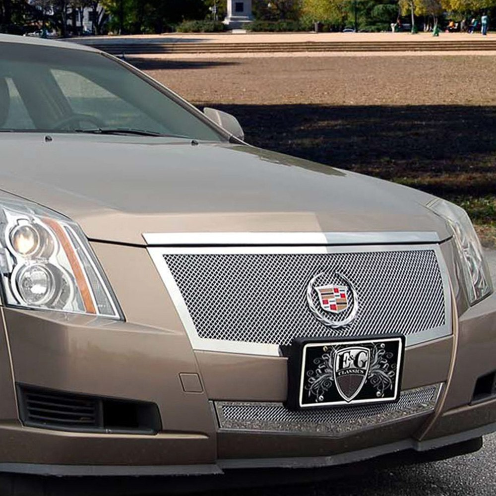 Custom Cadillac Cts: Cadillac CTS 2011 2-Pc Polished Fine Mesh