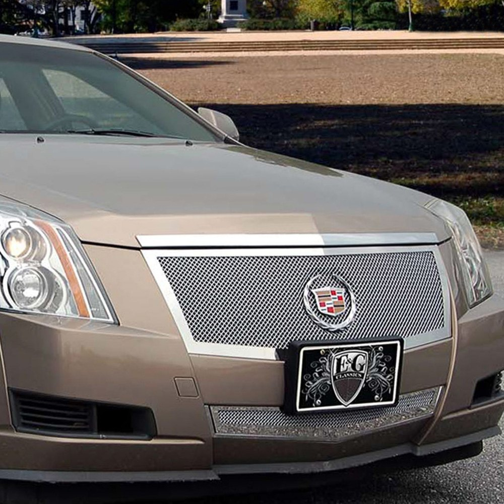 Cadillac CTS 2008 2-Pc Polished Fine Mesh