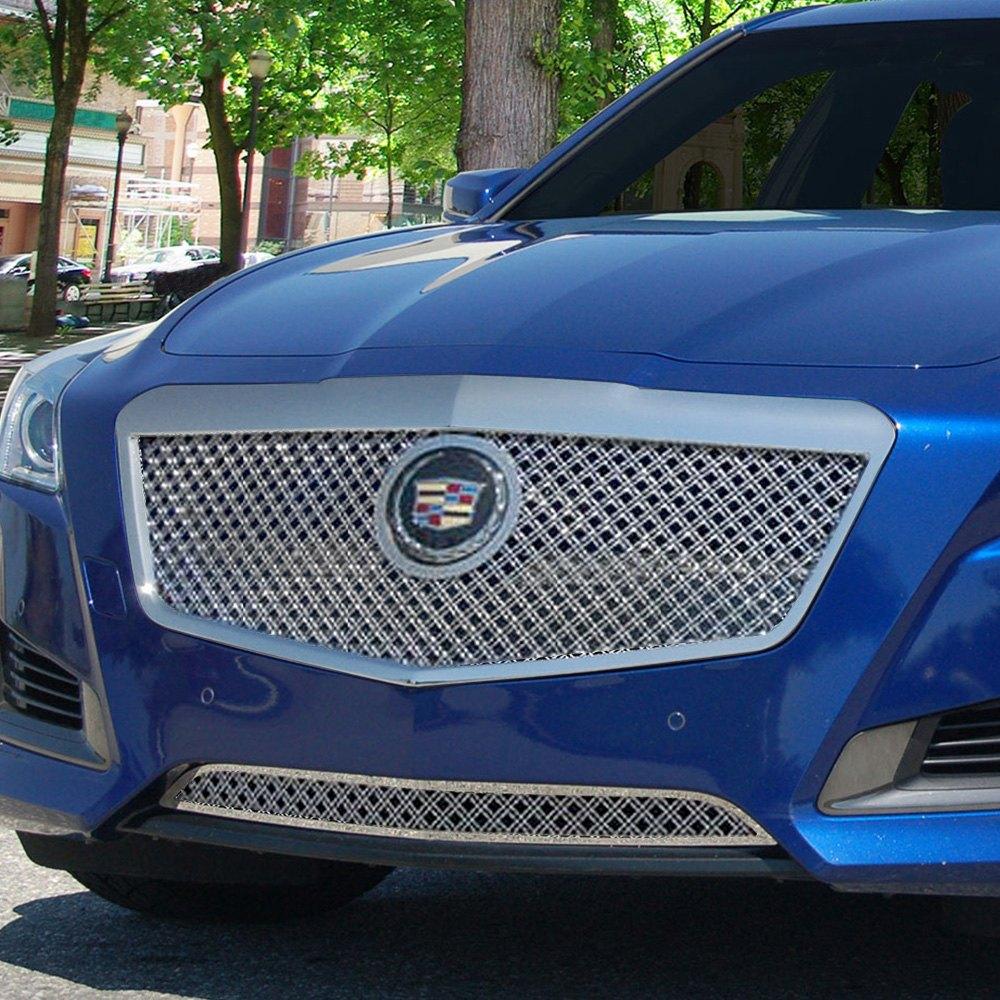 Cts Cadillac Sedan: Cadillac CTS Sedan 2014 Classic Series Chrome Dual Weave Mesh Grille