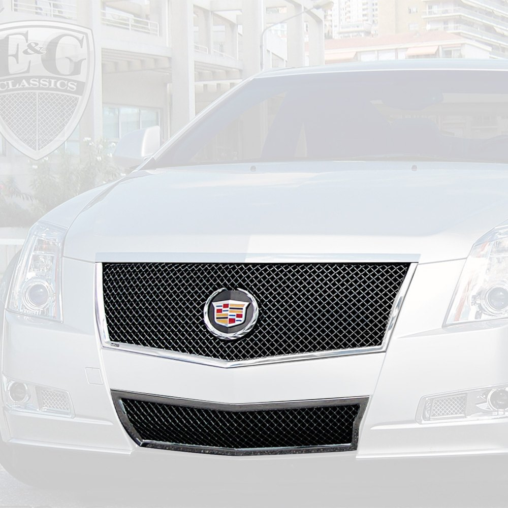 Custom Cadillac Cts: For Cadillac CTS 08-14 Grille Kit 2-Pc Classic Series