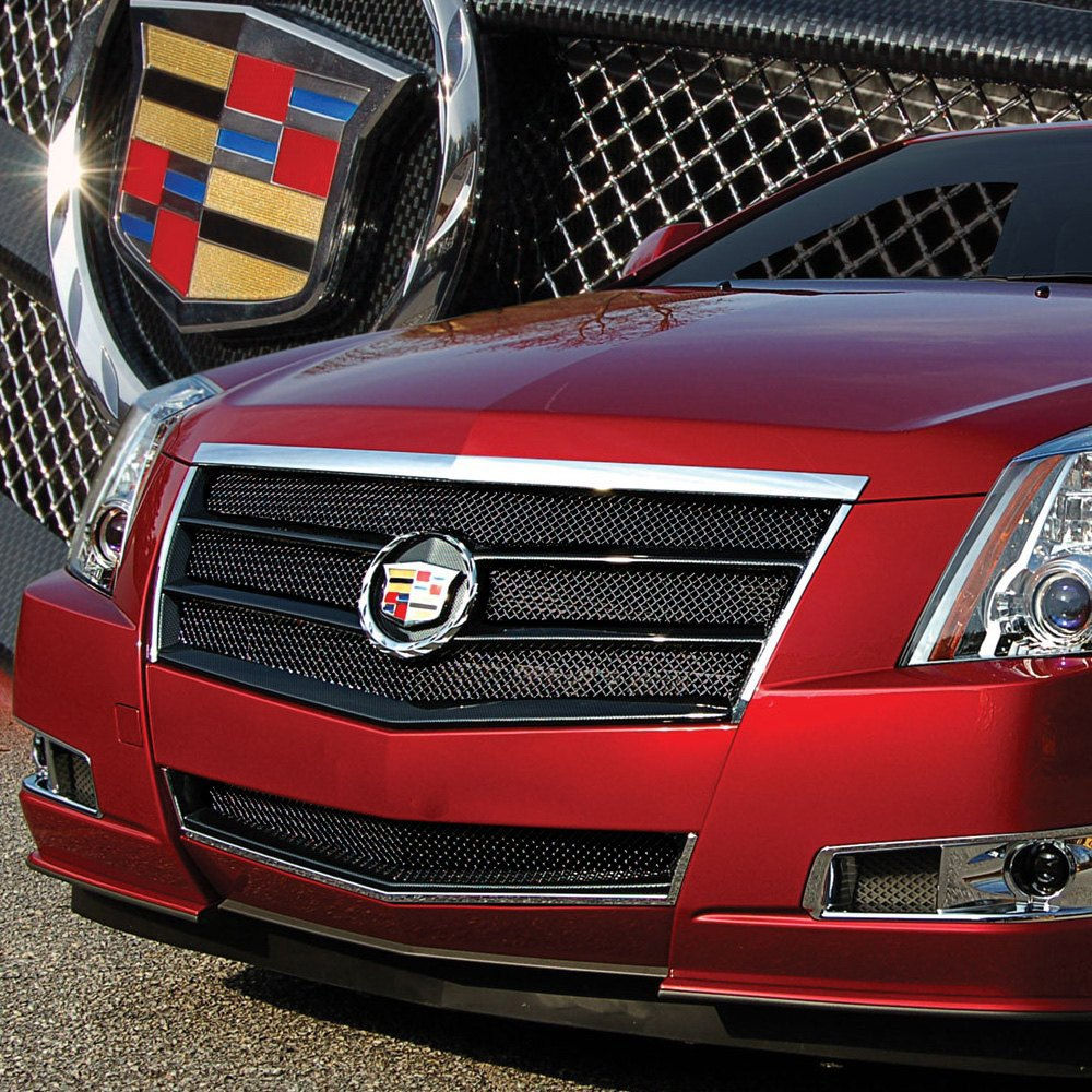 Cadillac Cts 2013 Price: Cadillac CTS 2013 2-Pc EGX Sport Series Black Ice Fine Mesh Grille