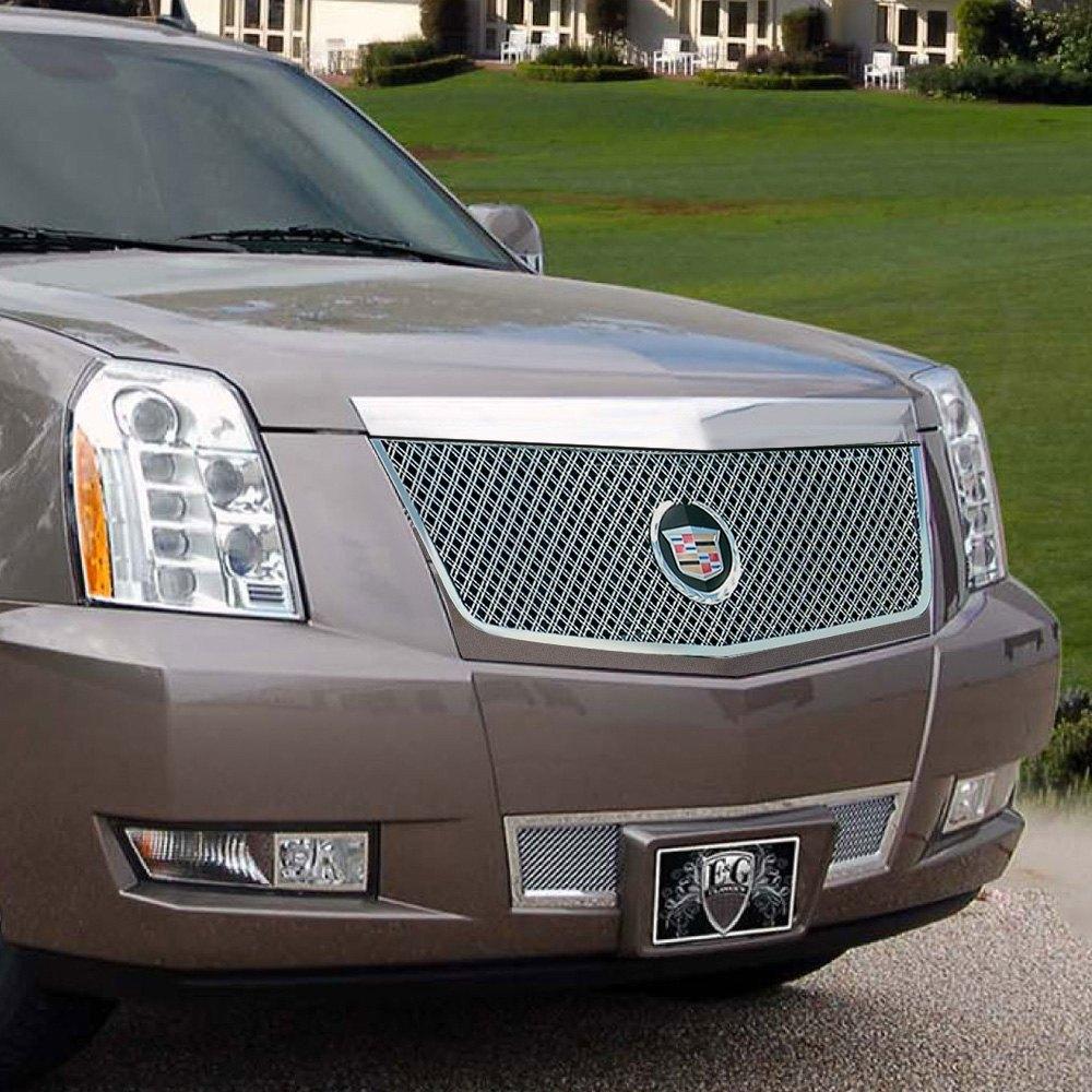 Cadillac Escalade 2008 2-Pc Chrome Dual