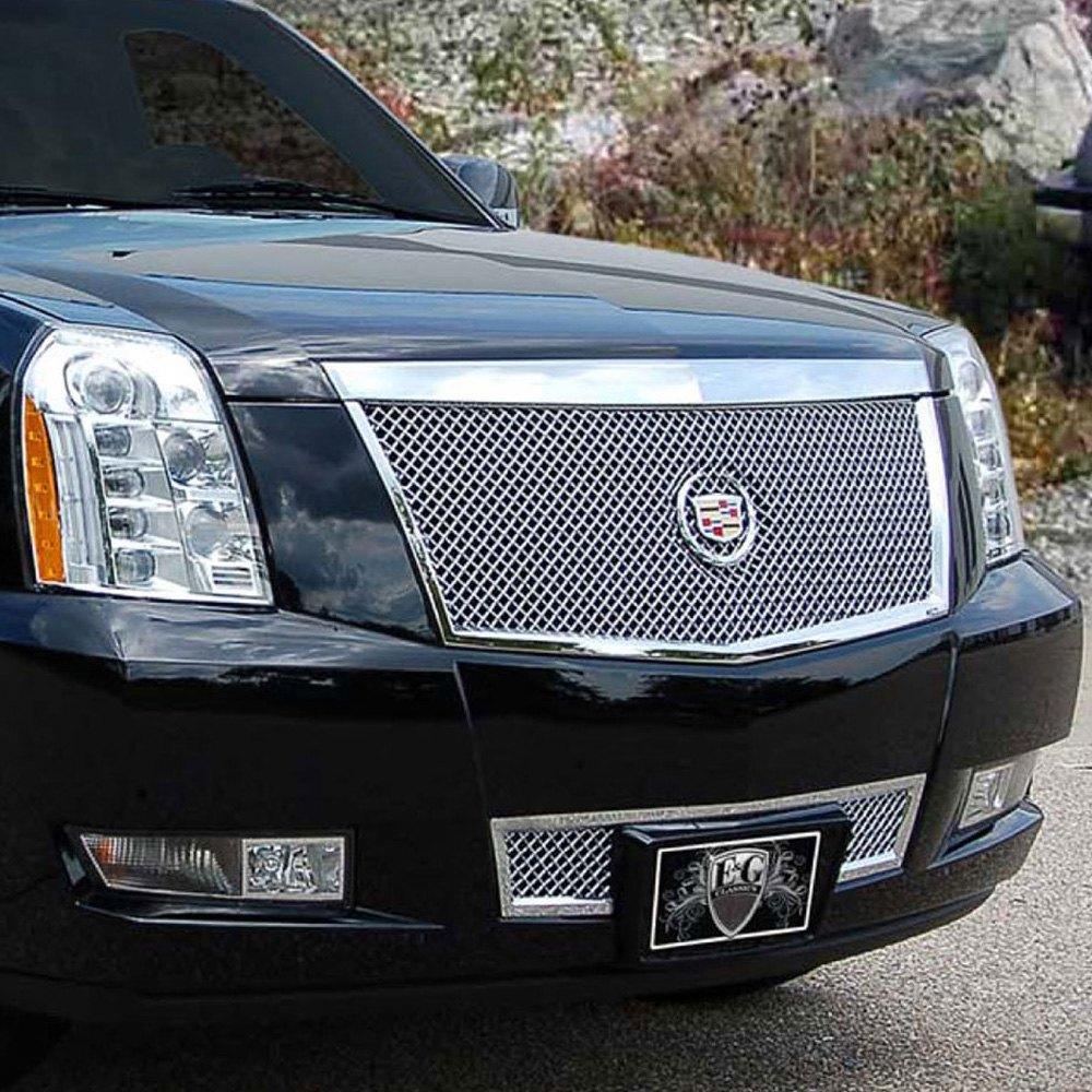 Cadillac Escalade 2008 2-Pc Chrome Heavy