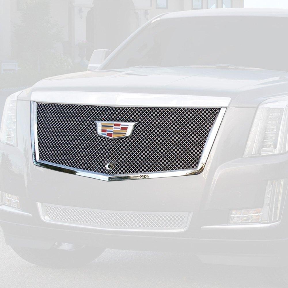 For Cadillac Escalade 15-18 E&G Classics 1-Pc Chrome Heavy