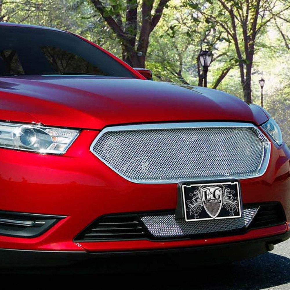Ford Taurus Sho 2013: Ford Taurus 2013-2018 2-Pc Chrome Fine