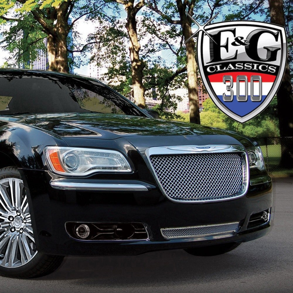Chrysler 300 2012 Chrome Mesh Grille