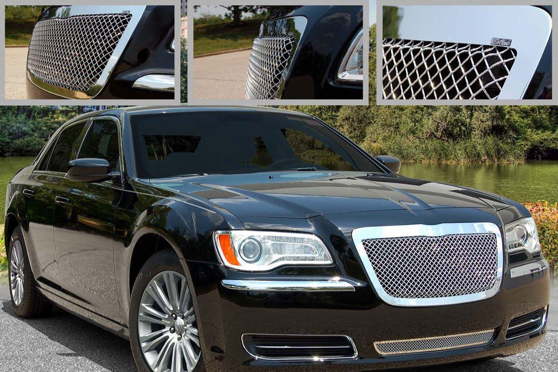 2013 CHRYSLER 300 300C UPPER STAINLESS STEEL MESH GRILLE ...  |Chrysler 300 Grills