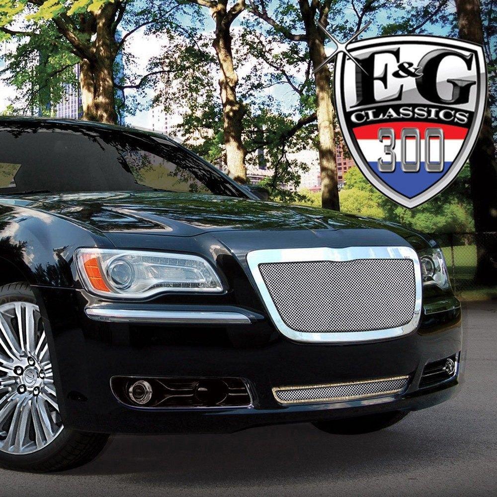 Chrysler 300 2013 Chrome Fine Mesh Grille