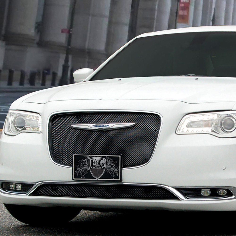 Chrysler 300 2015 1-Pc Stacked Black