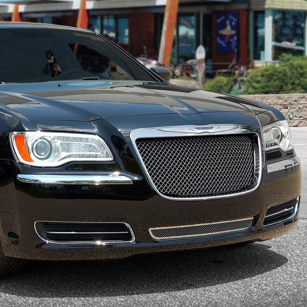Chrysler 300: Chrysler 300 2012 2-Pc Black Ice Mesh Grille