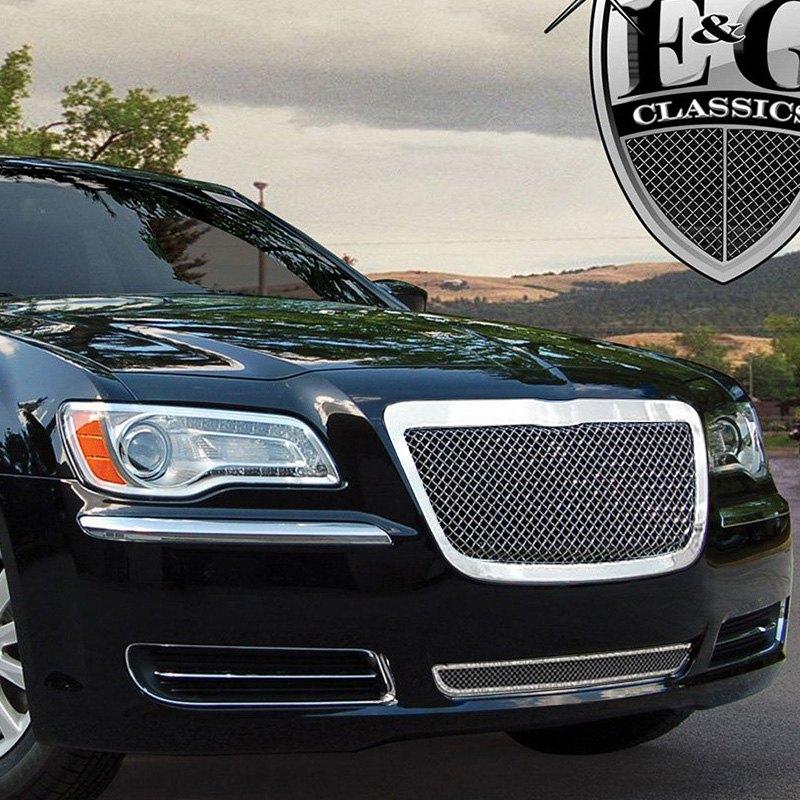Chrysler 300 2013-2014 2-Pc Black Ice Fine