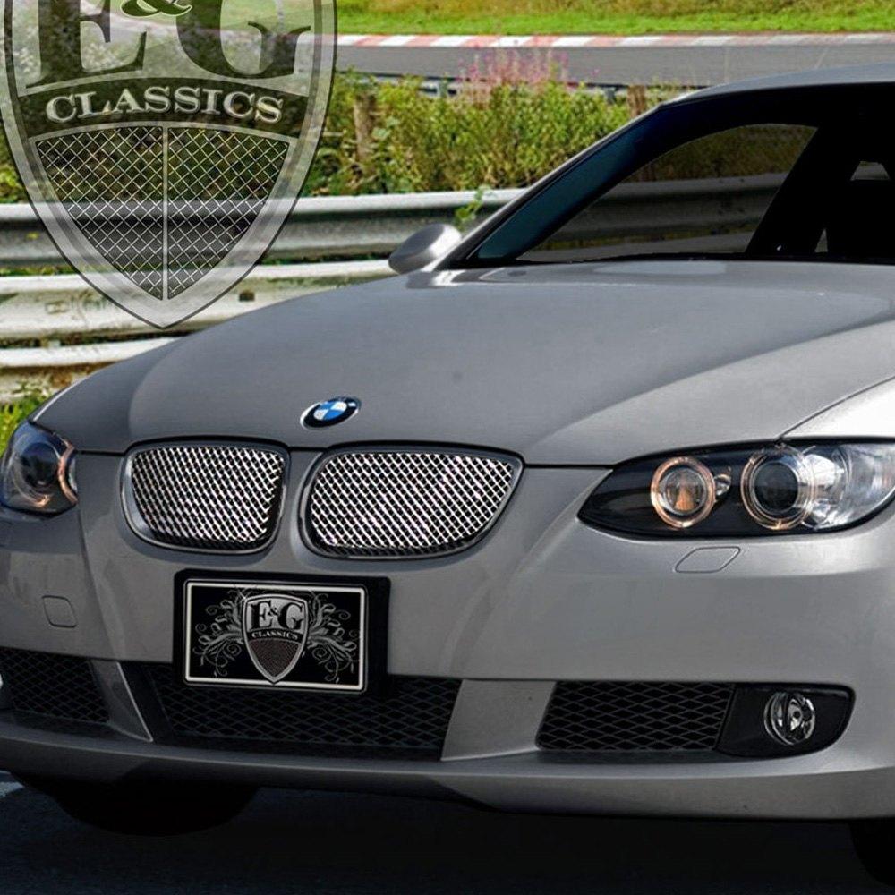 Bmw Xdrive 335d: BMW 3-Series 2008 2-Pc Chrome Fine Mesh Grille