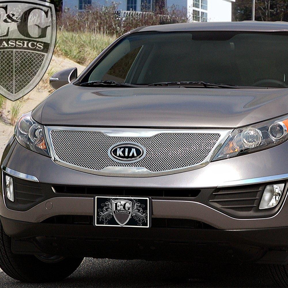 2012 Kia Sportage Interior: Kia Sportage 2012 1-Pc Chrome Fine Mesh Grille
