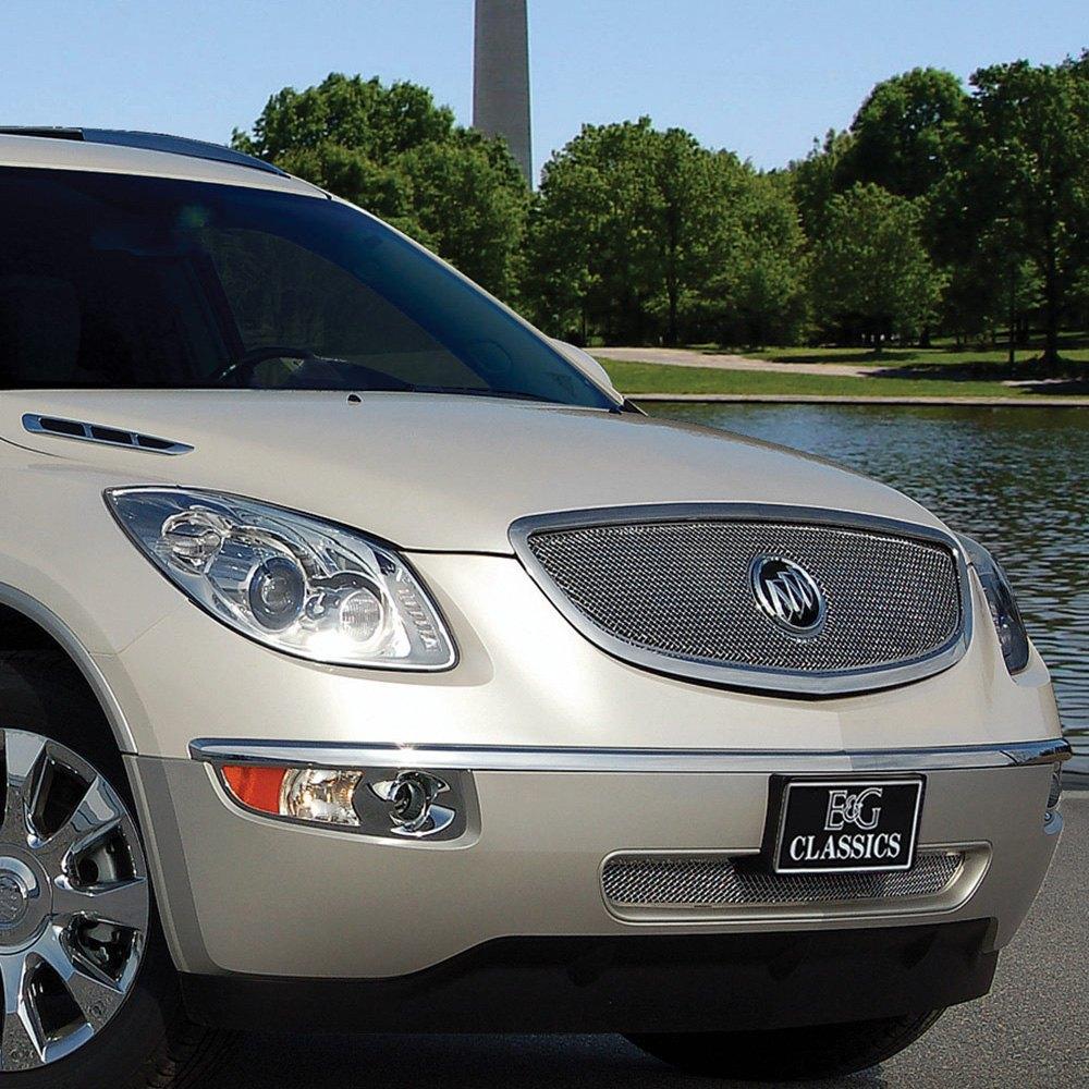 Buick Enclace: Buick Enclave 2008-2012 2-Pc Chrome Fine