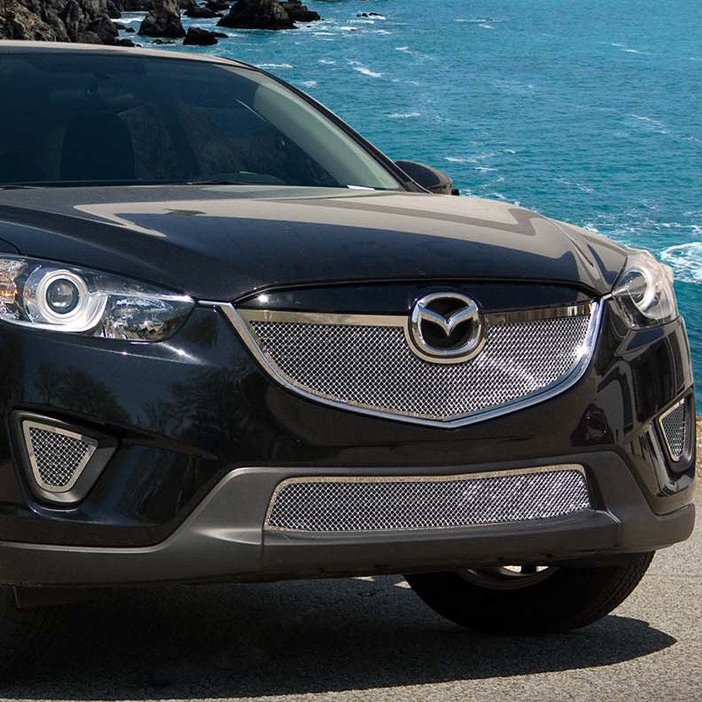Mazda Cx5 Reviews: Mazda CX-5 2013-2015 2-Pc Chrome Fine Mesh
