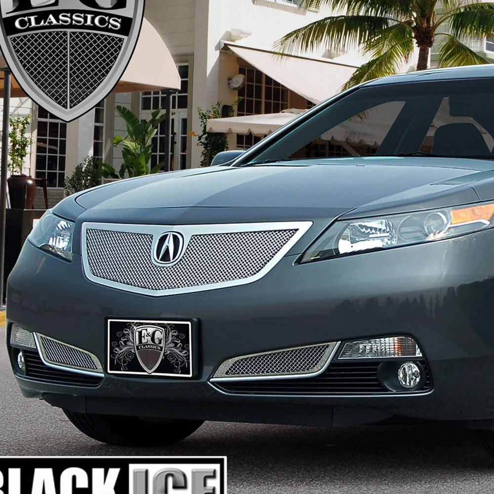 Acura TL 2012 1-Pc Chrome Fine Mesh Grille