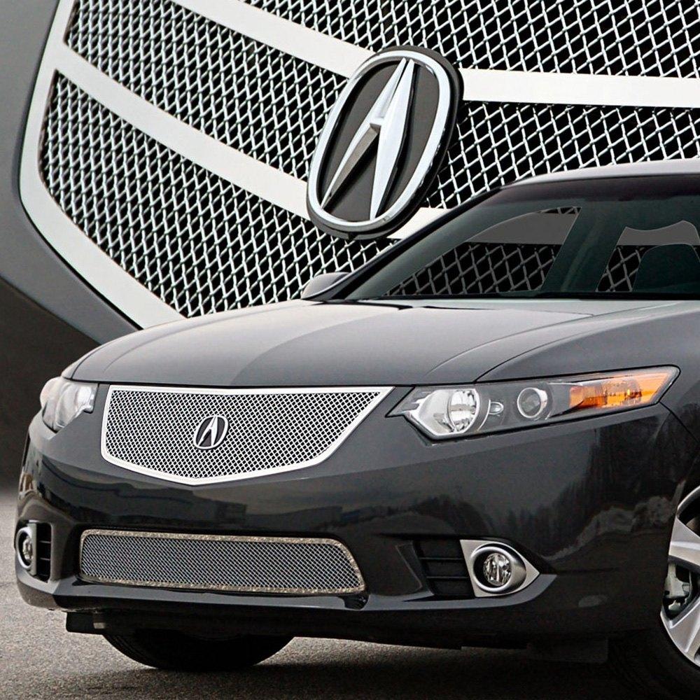 Acura TSX 2011-2014 2-Pc Open Style Chrome