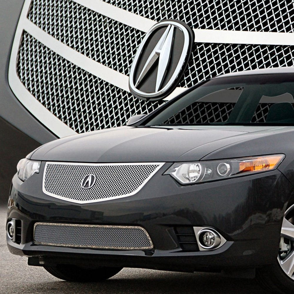 Acura TSX 2011-2014 Open Style Chrome Fine