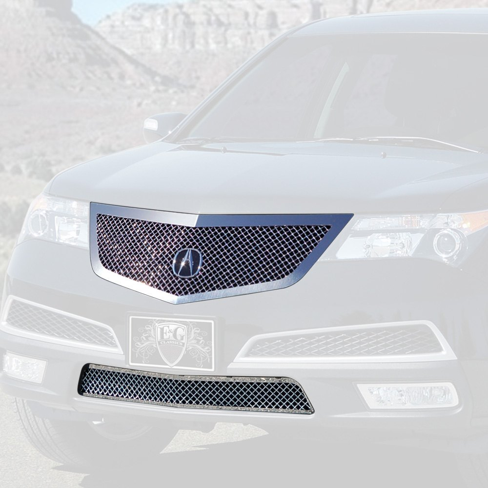 Acura MDX 2010-2013 E&G Classics 2-Pc Chrome Heavy Mesh