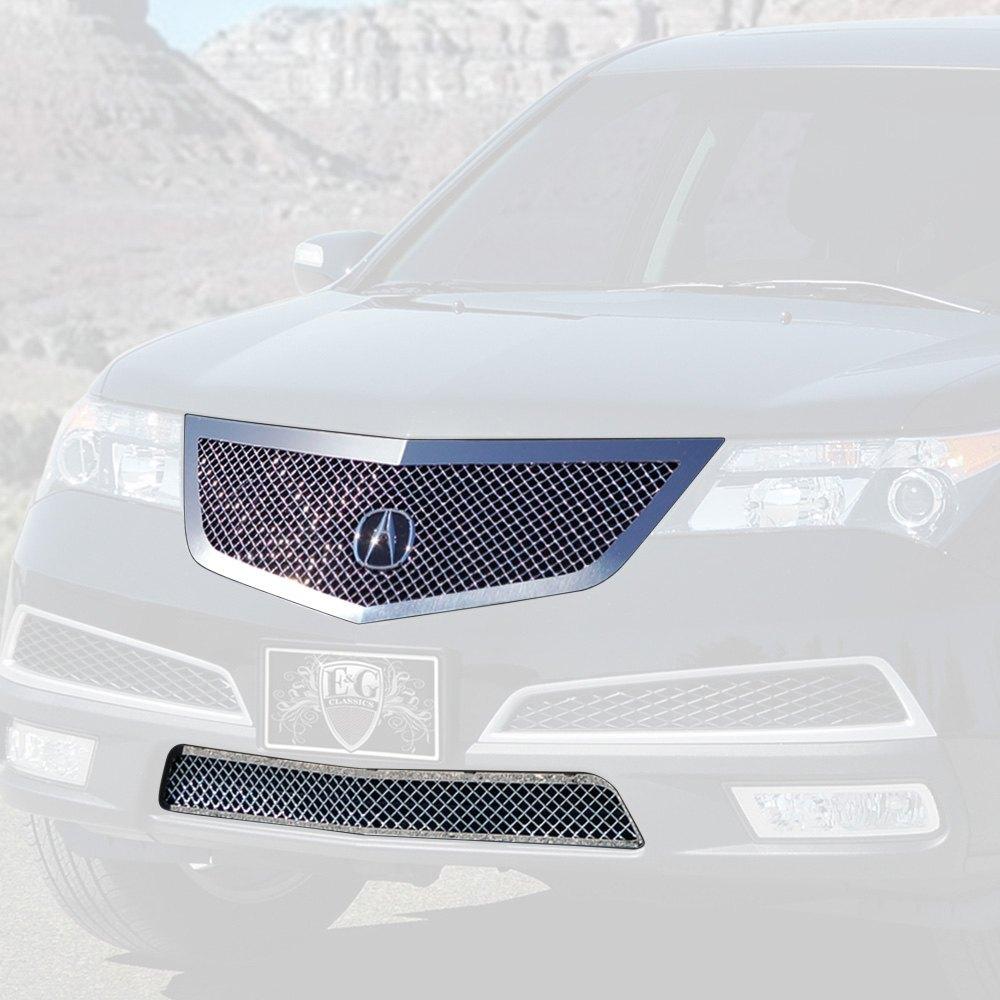 Acura MDX 2010-2013 E&G Classics 2-Pc Chrome Heavy Mesh