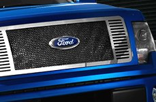 E&G Classics® - Black Ice Mesh Grille on Ford F-150