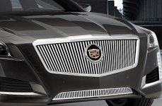 E&G Classics® - Classic Vertical Style Grille on Cadillac CTS