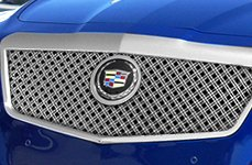 E&G Classics® - Dual Weave Mesh Grille on Cadillac CTS