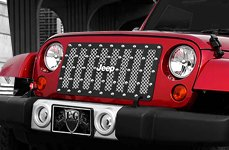 E&G Classics® - E-Power Style Grille on Jeep Wrangler