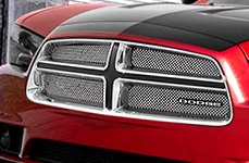 E&G Classics® - Fine Mesh Grille on Dodge Charger
