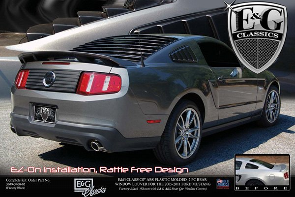 Forums at modded mustangs old school rear window louvers for 2000 mustang rear window louvers