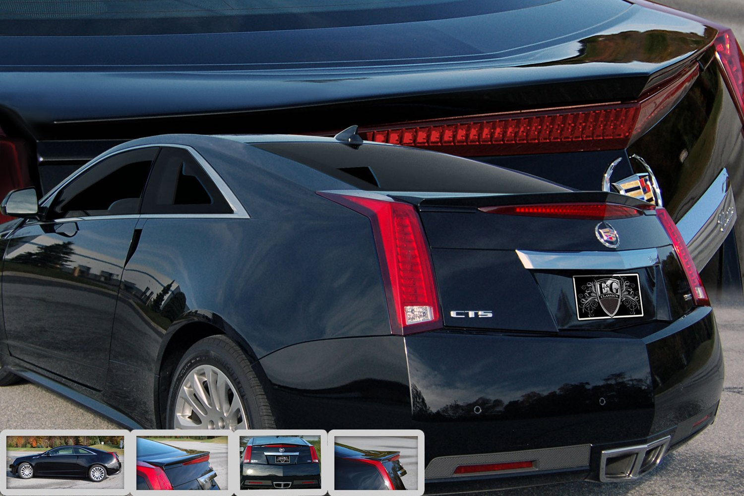 e g classics cadillac cts coupe 2011 2014 rear deck lid. Black Bedroom Furniture Sets. Home Design Ideas