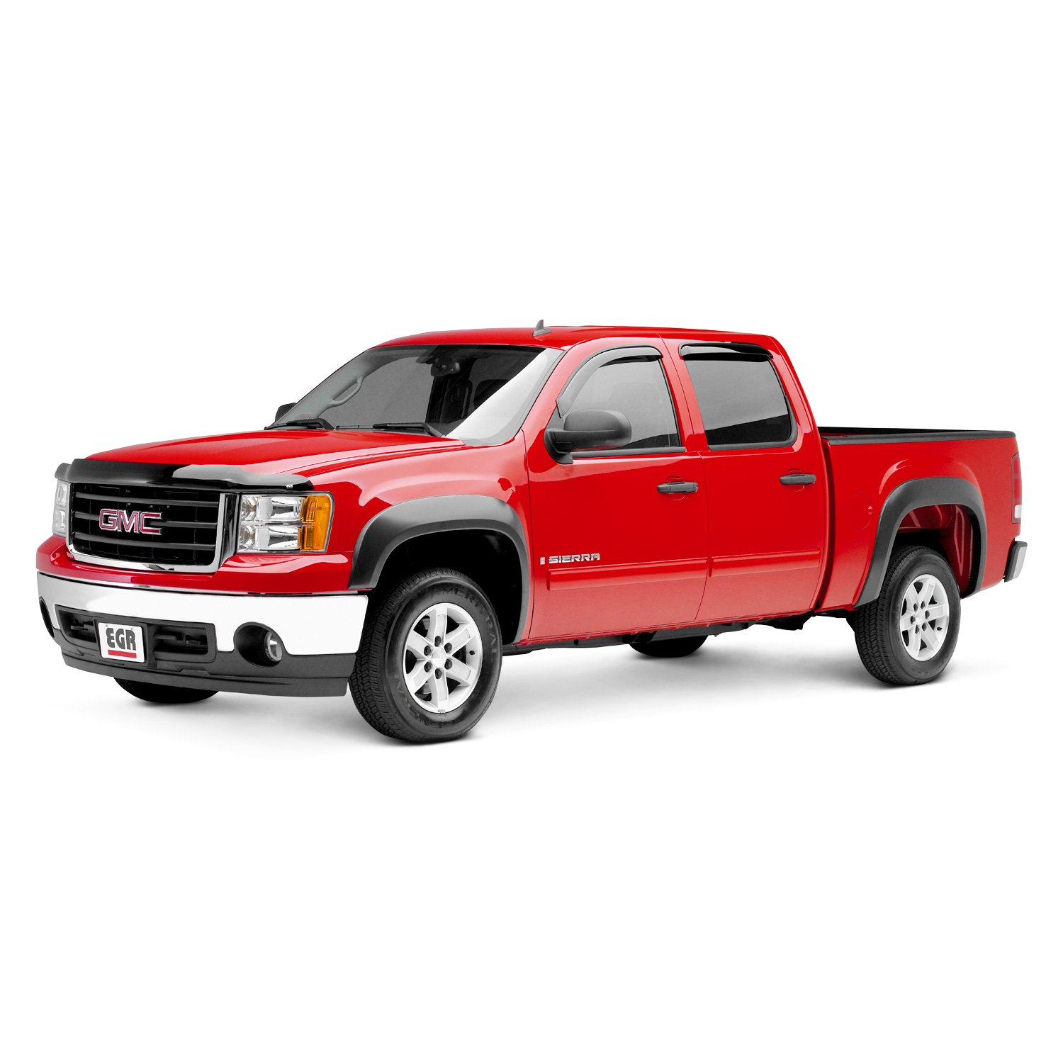 Egr 751414 Gmc Sierra 2011 2013 Rugged Black Front And