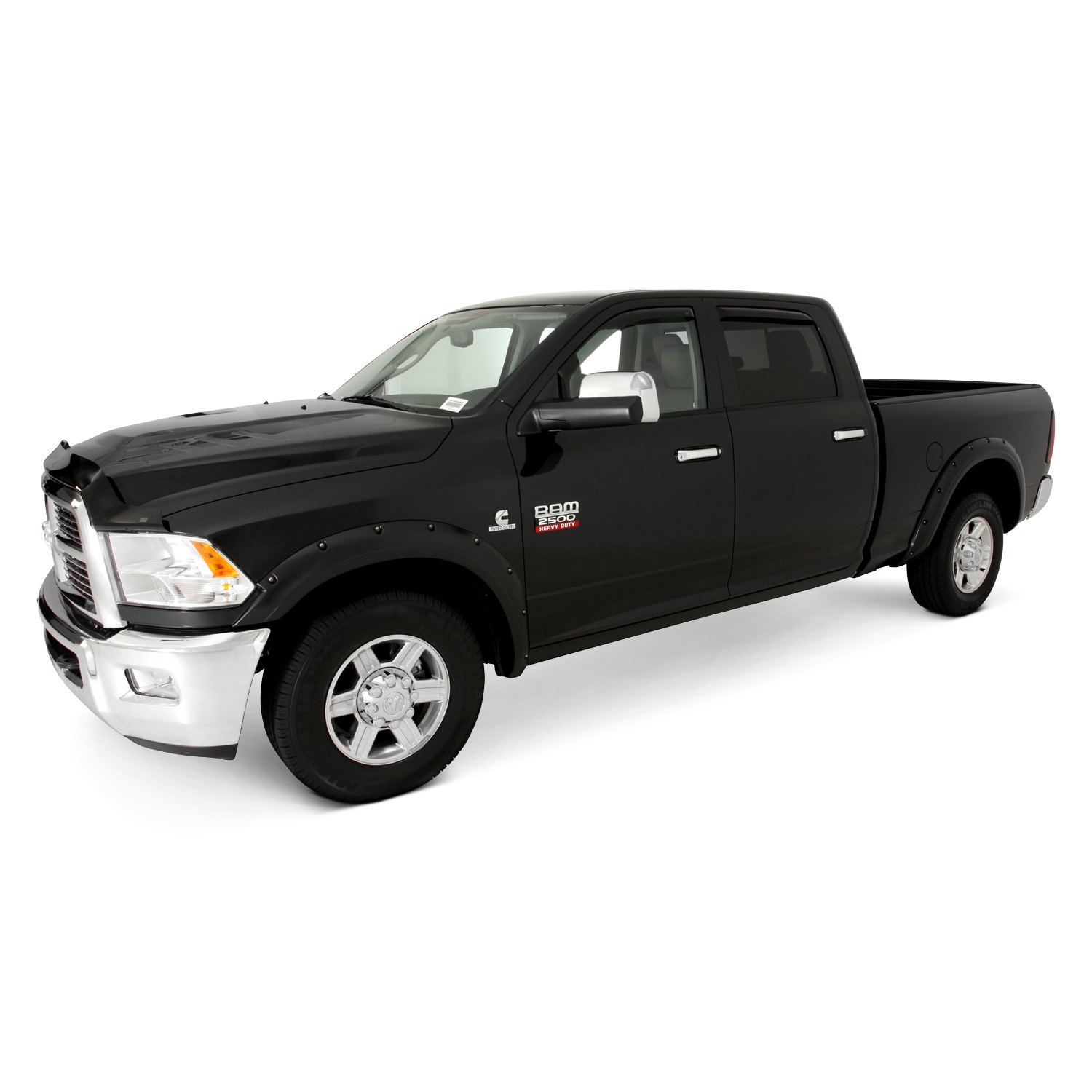 bolt on style black front and rear set fender flares 2010 dodge ram. Cars Review. Best American Auto & Cars Review